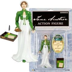 Because Jane Austen deserves an action figure complete with writing desk.  I am proud to say I own this!!  ~kd