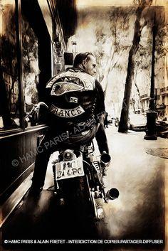 Découvrez encore plus dephotos d'Alain Fretet dansle livre Hells Angels Paris.