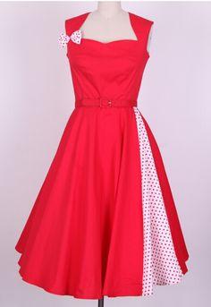 K342 Retro 50s Rockabilly Vintage Swan Pin Up Swing Dress 1950s Evening Formal