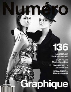 Numéro September 2012 by Karl Lagerfeld