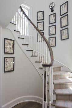 Such a pretty staircase!