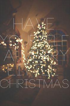 Christmas Lights Glisten;