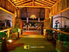 Casamento no campo, realizado em Piracicaba, no belo espaço Haras, com iluminação verde, entrada para festa, com o toque da Verde Total decorações
