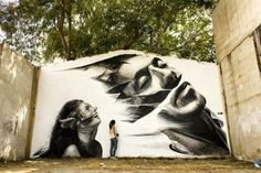 Street art in Greece by iNO and George Kavounis