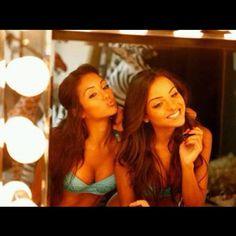 Melanie Iglesias x Lisa Ramos  Love their makeup
