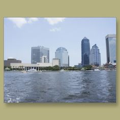 Skyline on the Water Post Cards