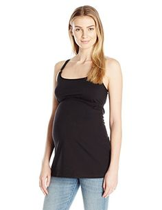 Leading Lady Womens Empire Waist Nursing Cami with Lace Back Black XLarge ** Check this awesome product by going to the link at the image. (This is an affiliate link and I receive a commission for the sales) Nursing Wear, Breastfeeding And Pumping, Lace Back, Pregnancy Tips, Black Tank, Black Media, Camisoles