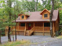 Cabin vacation rental in Bryce Resort, Shenadoah Valley, VA