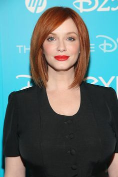 The Redheads: No list of redheads would be complete without Christina Hendricks of Mad Men. Her fair skin glows next to her copper hair color, and when paired with a red lip, it's sheer perfection.