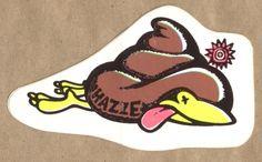 The New Deal Hazze sticker