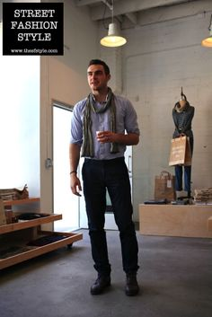 Man Morsel Monday - Beautifully Fit and Minimal Outfit by Apolis - Los Angeles