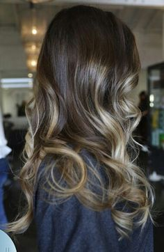 Such a pretty and subtle ombre