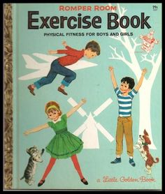 Little Golden Book - Romper Room Exercise Book - First Edition