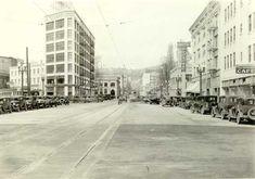 1931 W Burnside after widening