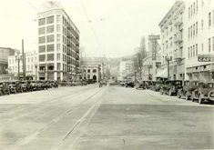 1931 W Burnside after widening
