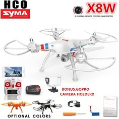 Cheap drone quadcopter, Buy Quality rc drone quadcopter directly from China syma Suppliers: SYMA Professional RC Drone Quadcopter With Wide Angle HD Camera Remote Control Helicopter Big Drone Rc Drone, Drone Quadcopter, Drones, Electronic Compass, Take Video, Gopro Camera, Surveillance System, Home Security Systems, Best Camera