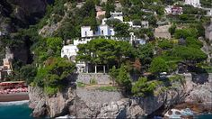 Villa TreVille in Positano, Amalfi Coast, Italy.  Most amazing place I have ever stayed!!!