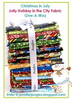 Jennifer Jangles Blog: Pouches, Bags, and Baskets to Make and a Give-A-Way - It's Christmas in July!