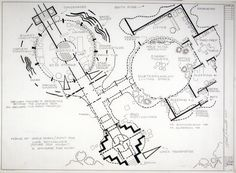 Wonderful 24 x 36 blueprint of the brady bunch house made the old mark bennett home of uncle owen and aunt rue star wars malvernweather Image collections