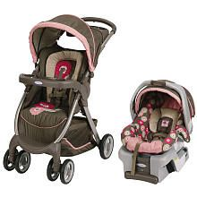 Graco FastAction Fold Travel System Stroller - Faith