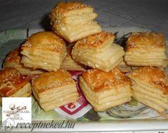Érdekel a receptje? Winter Food, Pretzel Bites, French Toast, Muffin, Dairy, Bread, Cheese, Chicken, Baking