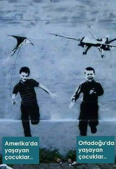 One ticket to hell please - Save Syria, One Ticket, Evil World, Child And Child, Banksy, Best Funny Pictures, Middle East, Captions, Street Art