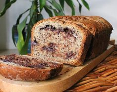 Food Lust People Love: Mocha Porter Quinoa Loaf #BreadBakers