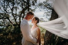 Mark and Mia celebrated their wedding on Motuihe Island, New Zealand on 20 February 2020. Thank you for sharing your stunning photos taken by Tashina Narelle Photography. Mia is wearing Bridal and Ball style 70545 New Zealand, February, Island, Bridal, Celebrities, Gallery, Photos, How To Wear, Photography