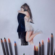 I love them @arianagrande @justinbieber #art #artwork #drawing #fanart #love #hug #cuddle #nawden #phanasu #ariana #ari #arianagrande #justinbieber #justin #bieber #honeymoon #honeymoontour #perfect #babies #music