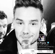 Liam reached 13 millions of followers today! 9/9/13 gif