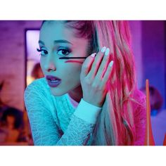 Ariana Grande ❤ liked on Polyvore featuring ariana grande, celebrities, people, backgrounds and magazine