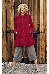 Anthropologie - grable swing coat