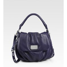Marc by Marc Jacobs Classic Q Lil Ukita Hobo ($428) ❤ liked on Polyvore