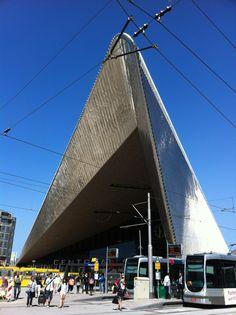 Station Rotterdam Centraal in Rotterdam, Zuid-Holland