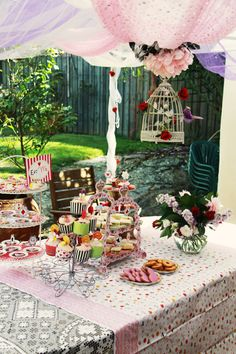 alice in wonderland party supplies | Alice In Wonderland 10 {Blissful Customers} A Mad Hatters Tea Party GREAT COLOR SCHEME