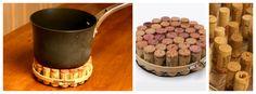 DIY: Wine Cork Pot Holder