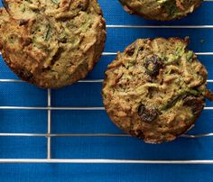 Skinny Holiday Recipes: Zucchini Spice Bran Muffins