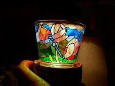 Malowanie na szkle  Stained glass