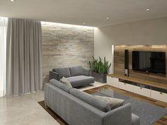 beton architektoniczny i drewno w salonie - Szukaj w Google