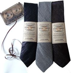 Recycled Cassette Tape Ties Are Actually Playable