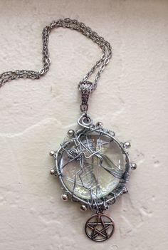 Items similar to The Soul of Sam Winchester Supernatural Inspired Necklace Jared Padalecki SPNFamily Pentagram on Etsy Supernatural Jewelry, Crowley Supernatural, Ring Bracelet, Ring Earrings, Cool Necklaces, Sam Winchester, Silver Beads, Geek Stuff, Bling