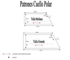 Mi Desenchufe Store: Cuello o Bufanda de Polar con Botón - (Videotutorial + Patrones)