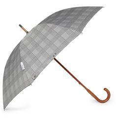London UndercoverClassic Prince of Wales Check Umbrella|MR PORTER