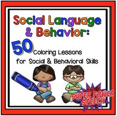 Quick and Easy Social Skills Lessons for therapy, the classroom, or home! Perfect for grades! Preschool Social Skills, Social Skills Lessons, Social Skills For Kids, Life Skills, Preschool Projects, Social Emotional Development, Social Emotional Learning, Classroom Behavior, Social Behavior