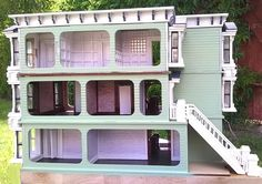 A DESIGN(er's) CHALLANGE This was my second dollhouse after 14 years, my first attempt at scale and it was an experiment to see how. Virtual Tour, Dollhouses, Modern Decor, The Row, Building A House, Scale, Exterior, Tours, Mansions