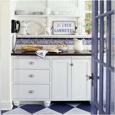 Key Interiors by Shinay: Cottage Kitchen Ideas   Butler's pantry idea