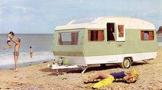 1960s caravan - UK