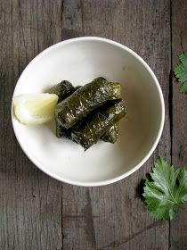 my darling lemon thyme: vegetarian dolmades recipe (ns)