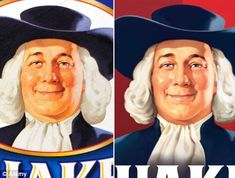 quaker oats maker  the oats man, trims fat off his face, i liked him better before