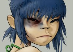 Here is a place where I will post all of the official Gorillaz art. I claim none of this art and it is all created by Jamie Hewlett. I will NOT be posting any fan art (including edits). Gorillaz Noodle, Art Gorillaz, Cyborg Noodle, Gorillaz Wiki, Gorillaz Plastic Beach, Jamie Hewlett Art, Manga Anime, Anime Art, Art Puns